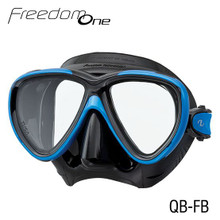 Tusa Freedom One Mask - Black/Fish Tail Blue