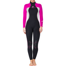 Bare 7MM Nixie Full Wetsuit, Womens, Pink - 06