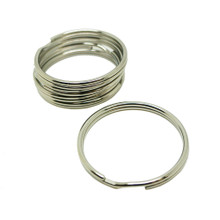 Scuba Diving 51mm Stainless Steel 2.5mm Split Ring for BCD attachment 5pc Pack