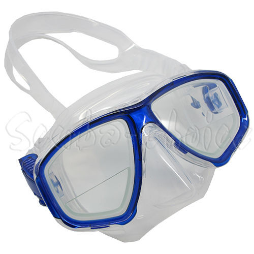 Scuba Yellow Dive Mask FARSIGHTED Prescription RX 1//3 Optical Lenses