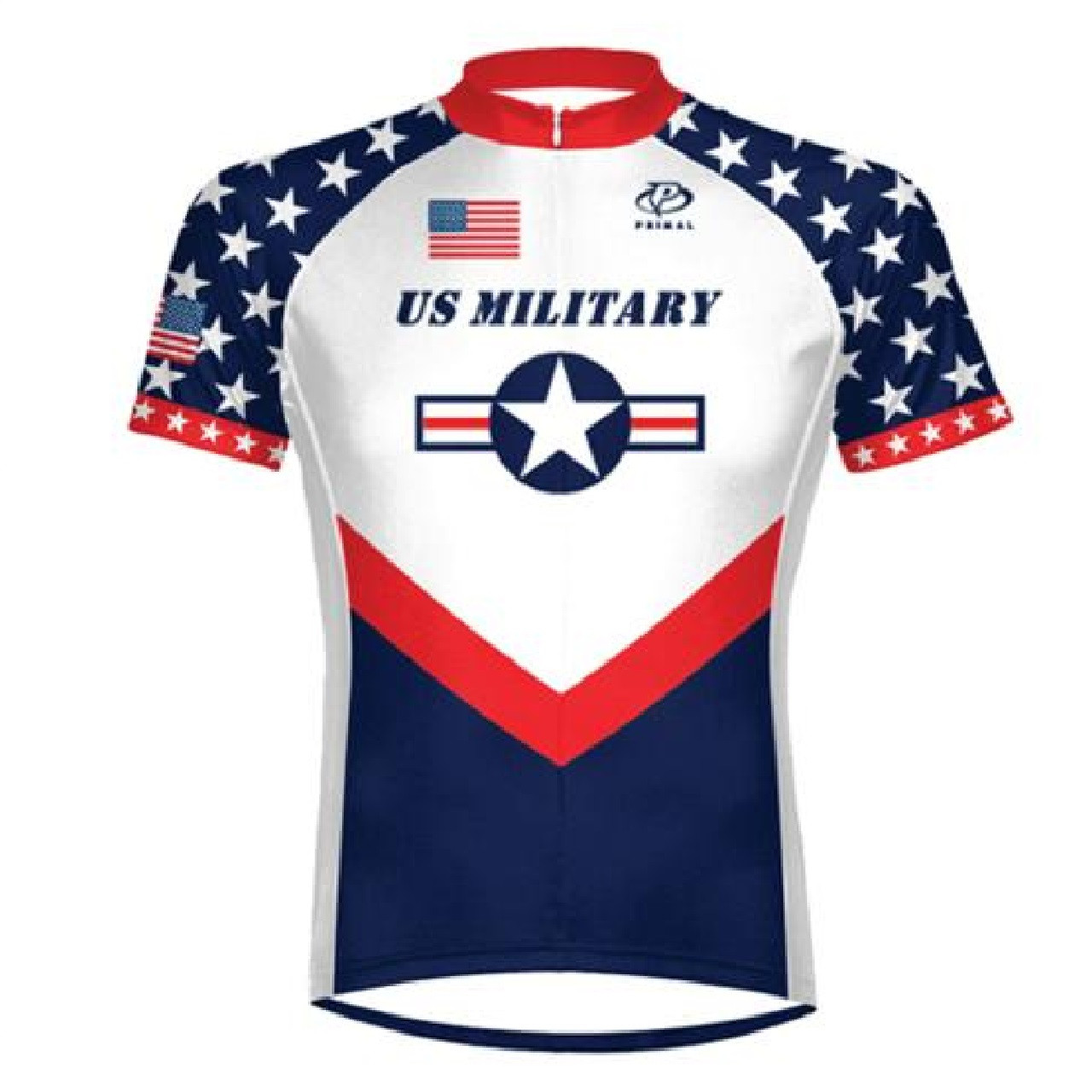87b3d2b97 Add to Wish List. Click the button below to add the Primal Wear US Military  Team Men s 3 4 zip Sport Cut Cycling Jersey ...