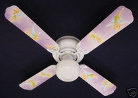 New TINKERBELL PRINCESS FAIRY Ceiling Fan 42""