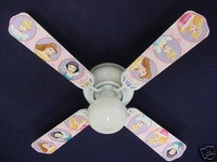 New PRINCESS PRINCESSES Ceiling Fan 42""