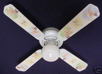 New Disney BAMBI THUMPER KIDS BABY Ceiling Fan 42""