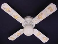 """New CLASSIC WINNIE POOH PIGLET BLUE Ceiling Fan 42"""""""