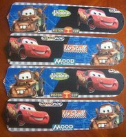 "New CARS LIGHTNING MATER 42"" Ceiling Fan BLADES ONLY"