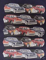 """New 1950s HOT ROD CAR CARS 52"""" Ceiling Fan BLADES ONLY"""