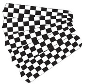 "New NASCAR CHECKERED FLAG 52"" Ceiling Fan BLADES ONLY"