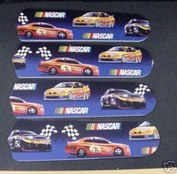 "New NASCAR RACE CAR CARS 42"" Ceiling Fan BLADES ONLY"