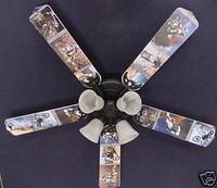 """New MOTOCROSS DIRT BIKE MOTORCYCLES Ceiling Fan 52"""""""