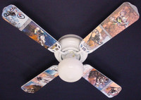 New MOTOCROSS DIRT BIKE MOTORCYCLES Ceiling Fan 42""