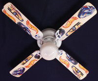 New HOT WHEELS RACE CAR CARS Ceiling Fan 42""