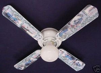 New NHRA DRAG RACE CARS PRO STOCK Ceiling Fan 42""