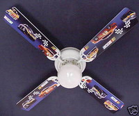 "NASCAR Race Cars 42"" Ceiling Fan"