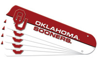 "New NCAA OKLAHOMA SOONERS 42"" Ceiling Fan Blade Set"