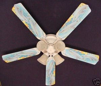 """New PLAYFUL DOLPHINS DOLPHIN Ceiling Fan 52"""""""