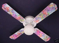 New OCEAN TROPICAL REEF FISH Ceiling Fan 42""