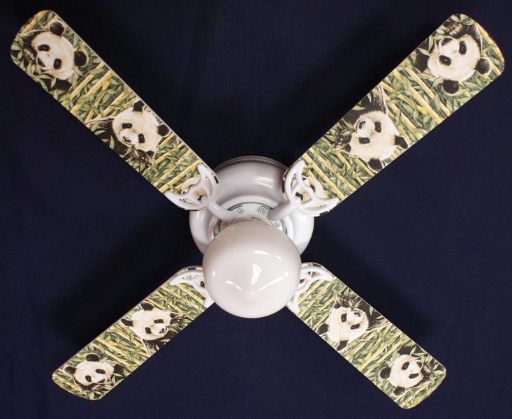 "42"" PANDA BEAR BEARS Ceiling Fan"