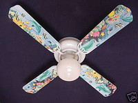 New DOLPHINS FISH REEF OCEAN Ceiling Fan 42""