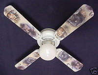 New BUCK MOOSE BEAR WILDERNESS Ceiling Fan 42""