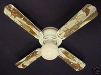 """New BEAR MOOSE CABIN FISHING WILDERNESS Ceiling Fan 42"""""""
