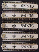 "New NFL NEW ORLEANS SAINTS 52"" Ceiling Fan BLADES ONLY"