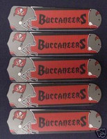 "New NFL TAMPA BAY BUCS 52"" Ceiling Fan BLADES ONLY"