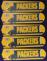 "New NFL GREEN BAY PACKERS 52"" Ceiling Fan BLADES ONLY"
