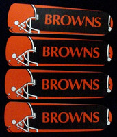 "New NFL CLEVELAND BROWNS 42"" Ceiling Fan BLADES ONLY"