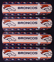 "New NFL DENVER BRONCOS 42"" Ceiling Fan BLADES ONLY"