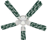 New NFL NEW YORK JETS FOOTBALL Ceiling Fan 52""