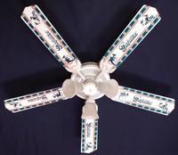 New NFL MIAMI DOLPHINS FOOTBALL Ceiling Fan 52""