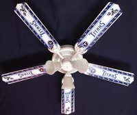 New NFL TENNESSEE TITANS FOOTBALL Ceiling Fan 52""