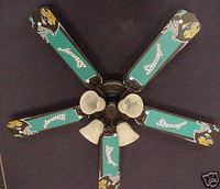 New NFL JACKSONVILLE JAGUARS FOOTBALL Ceiling Fan 52""