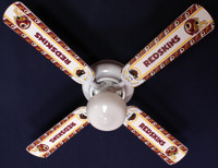 New NFL WASHINGTON REDSKINS Ceiling Fan 42""