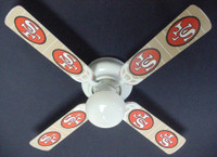 New NFL SAN FRANCISCO 49ERS FOOTBALL Ceiling Fan 42""