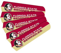 "New NCAA FSU FLORIDA STATE SEMINOLES 42"" Ceiling Fan Blade Set"