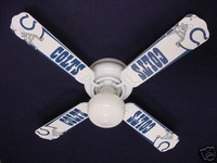 New NFL INDIANAPOLIS COLTS FOOTBALL Ceiling Fan 42""