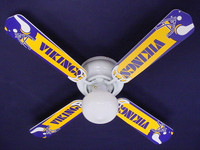New NFL MINNESOTA VIKINGS FOOTBALL Ceiling Fan 42""
