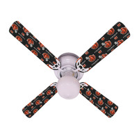 New NFL CINCINNATI BENGALS FOOTBALL Ceiling Fan 42""