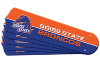 "New NCAA BOISE STATE BRONCOS 42"" Ceiling Fan Blade Set"