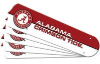 "New NCAA ALABAMA CRIMSON TIDE  42"" Ceiling Fan Blade Set"