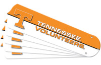 "New NCAA TENNESSEE VOLUNTEERS VOLS 52"" Ceiling Fan Blade Set"