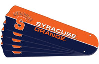 "New NCAA SYRACUSE ORANGE 52"" Ceiling Fan Blade Set"