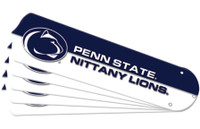 "New NCAA PENN STATE NITTANY LIONS 52"" Ceiling Fan Blade Set"
