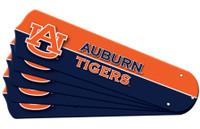 """New NCAA AUBURN TIGERS  52"""" Ceiling Fan Blade Set"""