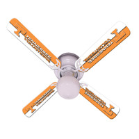 "New NCAA TENNESSEE VOLUNTEERS VOLS 42"" Ceiling Fan"