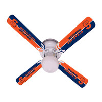 "New NCAA SYRACUSE ORANGE 42"" Ceiling Fan"