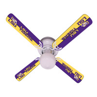 "New NCAA LSU TIGERS 42"" Ceiling Fan"