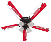 "New NCAA WISCONSIN BADGERS 52"" Ceiling Fan"